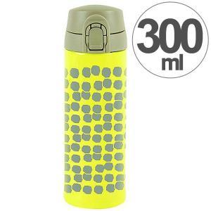 水筒 ワンプッシュマグボトル 保冷 保温 北欧 KEEP マイボトル 300ml スノウボール ( ステンレス 保冷保温 ステンレス製 ) colorfulbox