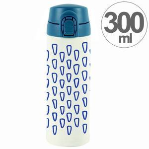 水筒 ワンプッシュマグボトル 保冷 保温 北欧 KEEP マイボトル 300ml オオヤマネコ ( ステンレス 保冷保温 ステンレス製 )|colorfulbox