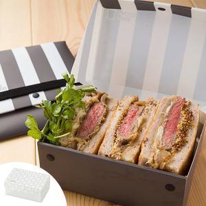 サンドイッチケース 折りたたみ プラスチック製 パーネパッコ ドット ストライプ ( お弁当箱 弁当箱 ボックス )|colorfulbox