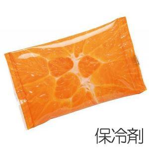 保冷剤 Pocket Cool オレンジ フルーツ 日本製 ( ジェル やわらか 保冷グッズ )|colorfulbox