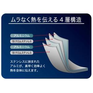 アルサス4 フライパン 20cm IH対応 日本製 ( ガス火対応 炒め鍋 キッチン用品 )|colorfulbox|03