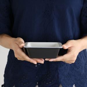 グラタン皿 13cm 洋食器 スクエア コーナー ( 1人用 角型 耐熱セラミック 電子レンジ オーブン 食洗機 冷凍 )|colorfulbox|04