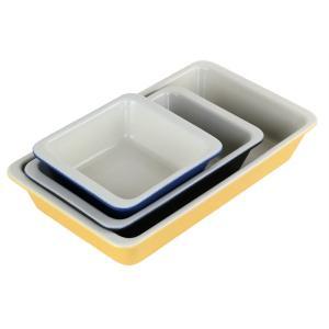グラタン皿 13cm 洋食器 スクエア コーナー ( 1人用 角型 耐熱セラミック 電子レンジ オーブン 食洗機 冷凍 )|colorfulbox|06