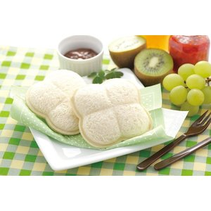 【ポイント最大26倍】食パン抜き型 サンドでパンだ クローバー 食洗機対応 日本製 ( サンドイッチ パン抜き型 クローバー型 )|colorfulbox|04