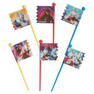 ピック ウルトラマンジード 子供用 9本入り キャラクター 日本製 ( お弁当グッズ キャラ弁 ランチピックス )|colorfulbox
