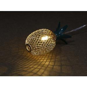 ガーランドライト LEDライト レスイヴェール パイナップル 10球 ( ライト led 電池式 ) colorfulbox 03
