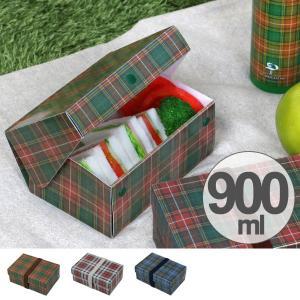 弁当箱 折りたたみ フラットサンドイッチケース 900ml ランチベルト付き ( お弁当箱 ランチボックス 日本製 )|colorfulbox