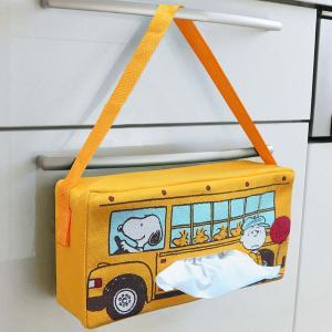 ティッシュケース スヌーピー ピーナッツ バス ( ティッシュ ケース カバー )|colorfulbox