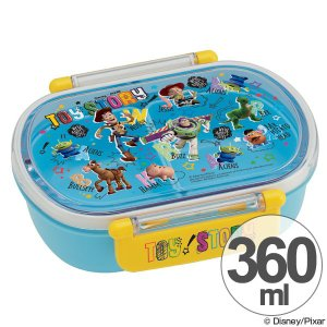 お弁当箱 小判型 トイ・ストーリー 360ml 子供用 キャラクター ( 弁当箱 ランチボックス プラスチック )|colorfulbox