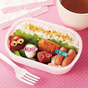 ピック めがねピック 4本入り お弁当グッズ お弁当作り ( ピックス キャラ弁 デコ弁 )|colorfulbox