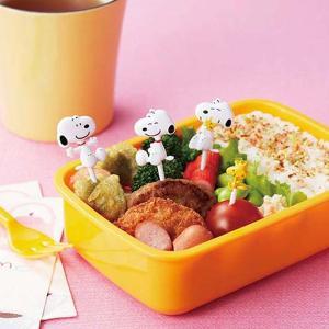 ピック ニコニコピック スヌーピー キャラクター お弁当グッズ ( お弁当作り キャラ弁 ピックス )|colorfulbox