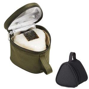 保冷おにぎりケース おにぎり2個用 保冷ランチバッグ シンプル ( おにぎりバッグ おにぎりポーチ 保冷バッグ )|colorfulbox