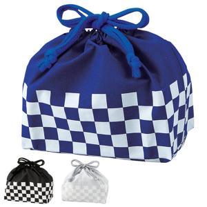 お弁当袋 メンズランチ巾着 チェック 巾着袋 ( 弁当 巾着 弁当袋 お弁当包み )|colorfulbox