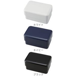 お弁当箱 スタッフ メンズ スクエアランチボックス 2段 900ml ( 弁当箱 ランチボックス レンジ対応 ) colorfulbox 03