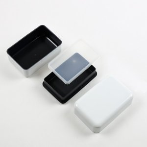 お弁当箱 スタッフ メンズ スクエアランチボックス 2段 900ml ( 弁当箱 ランチボックス レンジ対応 ) colorfulbox 04