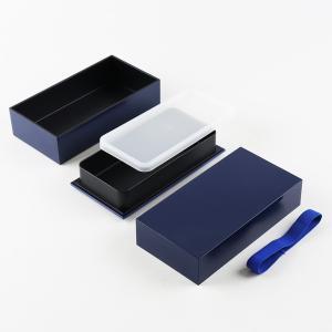 弁当箱 キューブL 男子 大容量 2段 890ml ( 二段 お弁当箱 シンプル ) colorfulbox 04