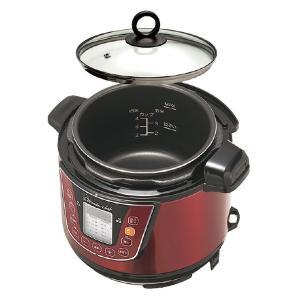Wonder chef ワンダーシェフ 家庭用マイコン電気圧力鍋 3L トング付き レシピ本付き ( 圧力鍋 電気式 電気式圧力鍋 )|colorfulbox|04