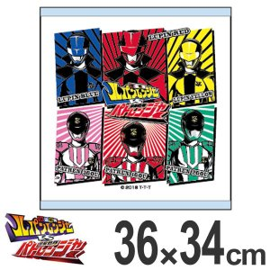 ハンドタオル 快盗戦隊ルパンレンジャー vs 警察戦隊パトレンジャー ( タオル スーパー戦隊 キャラクター ) colorfulbox