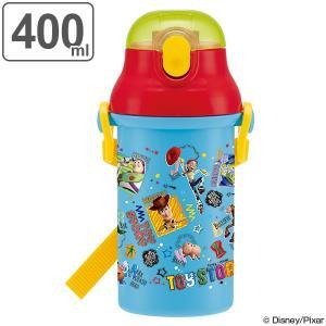 水筒 トイ・ストーリー 子供 キャラクター プラスチック製 ストローボトル 400ml ( 軽量 幼稚園 保育園 プラスチック )|colorfulbox