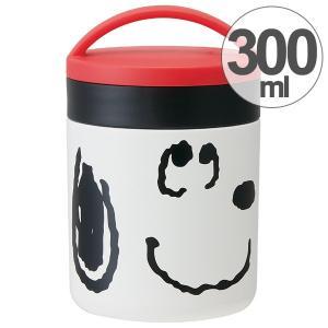 保温弁当箱 デリカポット コンパクトタイプ スヌーピー フェイス 300ml ( お弁当箱 保温 保冷 ランチポット )|colorfulbox
