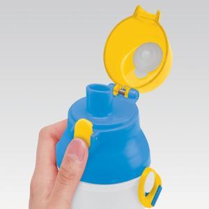 水筒 子供 Beingアクティブ 直飲みプラワンタッチボトル 480ml ( 軽量 プラスチック 子供用水筒 ) colorfulbox 02
