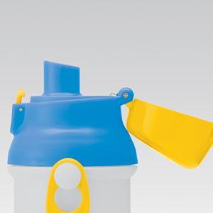 水筒 子供 Beingアクティブ 直飲みプラワンタッチボトル 480ml ( 軽量 プラスチック 子供用水筒 ) colorfulbox 04