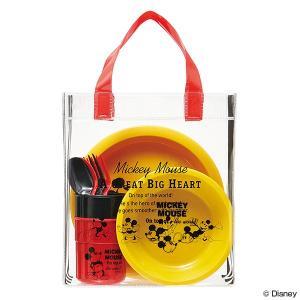 行楽ランチセット バッグ付 ミッキーマウス ミッキーチアフル ( アウトドア レジャーグッズ BBQ )|colorfulbox