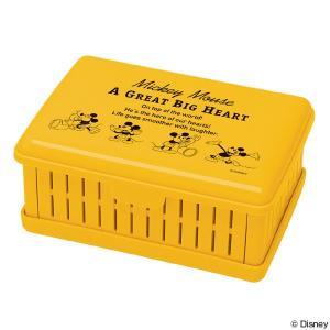 お弁当箱 折りたたみサンドイッチケース ミッキーマウス ミッキーチアフル ( 弁当箱 サンドイッチ コンパクト )|colorfulbox