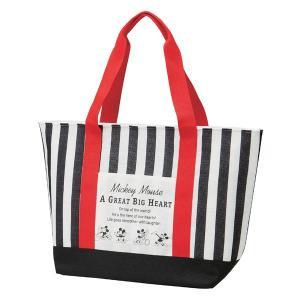 クーラーバッグ 麻風トート型保冷ショッピングバッグ ミッキーマウス ミッキーチアフル ( トートバッグ 保冷バッグ クーラートートバッグ )|colorfulbox
