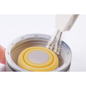 MARNA マーナ ブラシ 水筒すき間洗いブラシ ( 洗浄ブラシ 水筒用ブラシ 水筒洗い ) colorfulbox 04