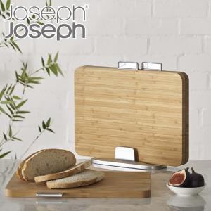 人気商品「インデックス付まな板」の竹製まな板セットです。3枚のまな板とスタンドのセットでコンパクトに...