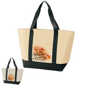 保冷バッグ トート型保冷ショッピングバッグ ベーカリー パン柄 グッズ ( 買い物バッグ 買い物袋 エコロジーバッグ )|colorfulbox