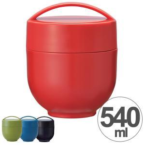 保温弁当箱 丼ランチボックス どんぶり型 コンパクトタイプ レトロフレンチカラー 540ml ( カフェ丼ランチジャー お弁当箱 保温 保冷 )|colorfulbox