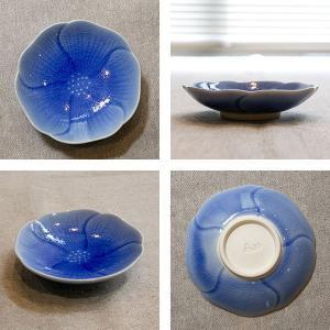 プレート フラワー S 9cm 食器 陶器 ( 皿 小皿 豆皿 電子レンジ対応 お皿 薬味皿 )|colorfulbox|03
