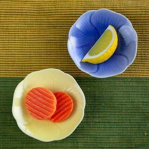 プレート フラワー S 9cm 食器 陶器 ( 皿 小皿 豆皿 電子レンジ対応 お皿 薬味皿 )|colorfulbox|05