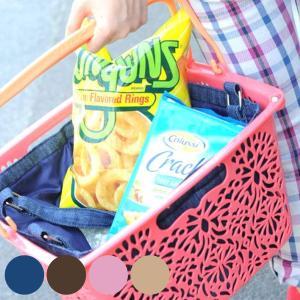マハロバスケットリィ 買い物かご 収納 アウトドア バスケット 正方形 ( レジかご 買い物カゴ レジカゴ )|colorfulbox