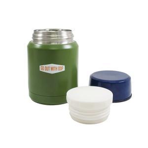 保温弁当箱 スープジャー スープポット 350ml アウトドアプロダクツ ( ステンレス 保温保冷 お弁当箱 )|colorfulbox|03