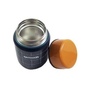 保温弁当箱 スープジャー スープポット 350ml アウトドアプロダクツ ( ステンレス 保温保冷 お弁当箱 )|colorfulbox|04