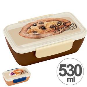 お弁当箱 スタイリッシュランチボックス 1段 530ml ベーカリー パン柄 グッズ ( 弁当箱 ランチボックス ドーム型 おすすめ )|colorfulbox