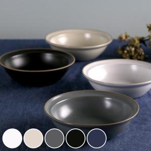 ボウル 16cm M エッジライン 陶器 食器 ( 食洗機対応 電子レンジ対応 皿 スープ皿 デザート )|colorfulbox