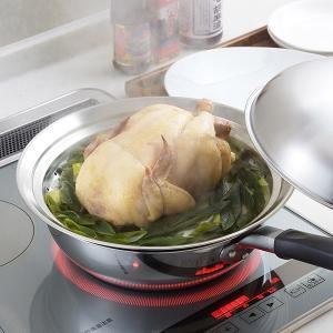 蒸し皿 フライパンにのせて簡単蒸しプレート ドーム型 24〜26cm用 日本製 ( 蒸し器 蒸し目皿 調理用品 ) colorfulbox 06