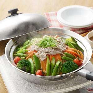 蒸し皿 フライパンにのせて簡単蒸しプレート ドーム型 24〜26cm用 日本製 ( 蒸し器 蒸し目皿 調理用品 ) colorfulbox 08