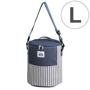 クーラーバッグ ストライプ L ドラム型 ( ランチバッグ 保冷バッグ ショルダーバッグ )