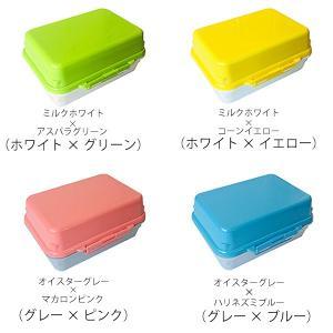 【ポイント最大26倍】お弁当箱 ジェルクール デリ 1段 500ml ドーム型 保冷剤一体型 ( 弁当箱 ランチボックス 日本製 )|colorfulbox|03