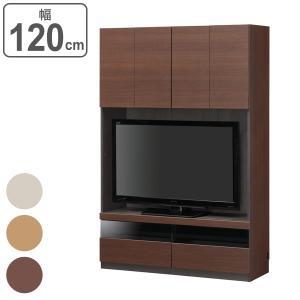 大容量収納でリビングをすっきりまとめる壁面収納シリーズの壁面テレビ台です。シリーズを組み合わせること...