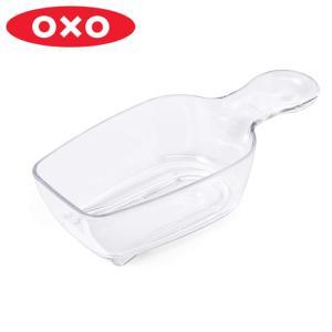 保存容器「ポップコンテナ」と合わせて使えるポップスクープです。グラノーラや小麦粉に便利です。フタの裏...