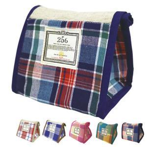 おにぎりケース オニギリポーチ 256(ニコロ) 保冷バッグ チェック ( おにぎり用 ポーチ ランチバッグ )|colorfulbox