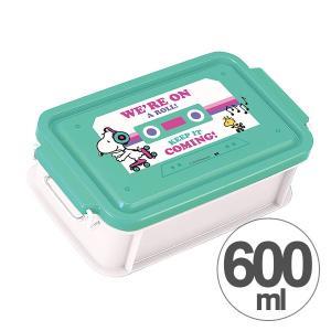 お弁当箱 ランチボックス スヌーピー BEAT 1段 600ml キャラクター ( 弁当箱 一段 日本製 )|colorfulbox