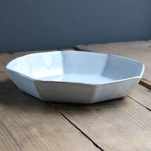 パスタプレート 23cm 洋食器 アミューズ 陶器 食器 笠間焼 日本製 ( 食洗機対応 電子レンジ対応 皿 お皿 深皿 八角形 )|colorfulbox|14