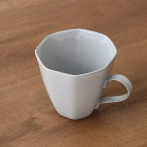 マグカップ 320ml アミューズ コップ マグ 陶器 笠間焼 日本製 ( 食洗機対応 電子レンジ対応 カップ 八角形 )|colorfulbox|11